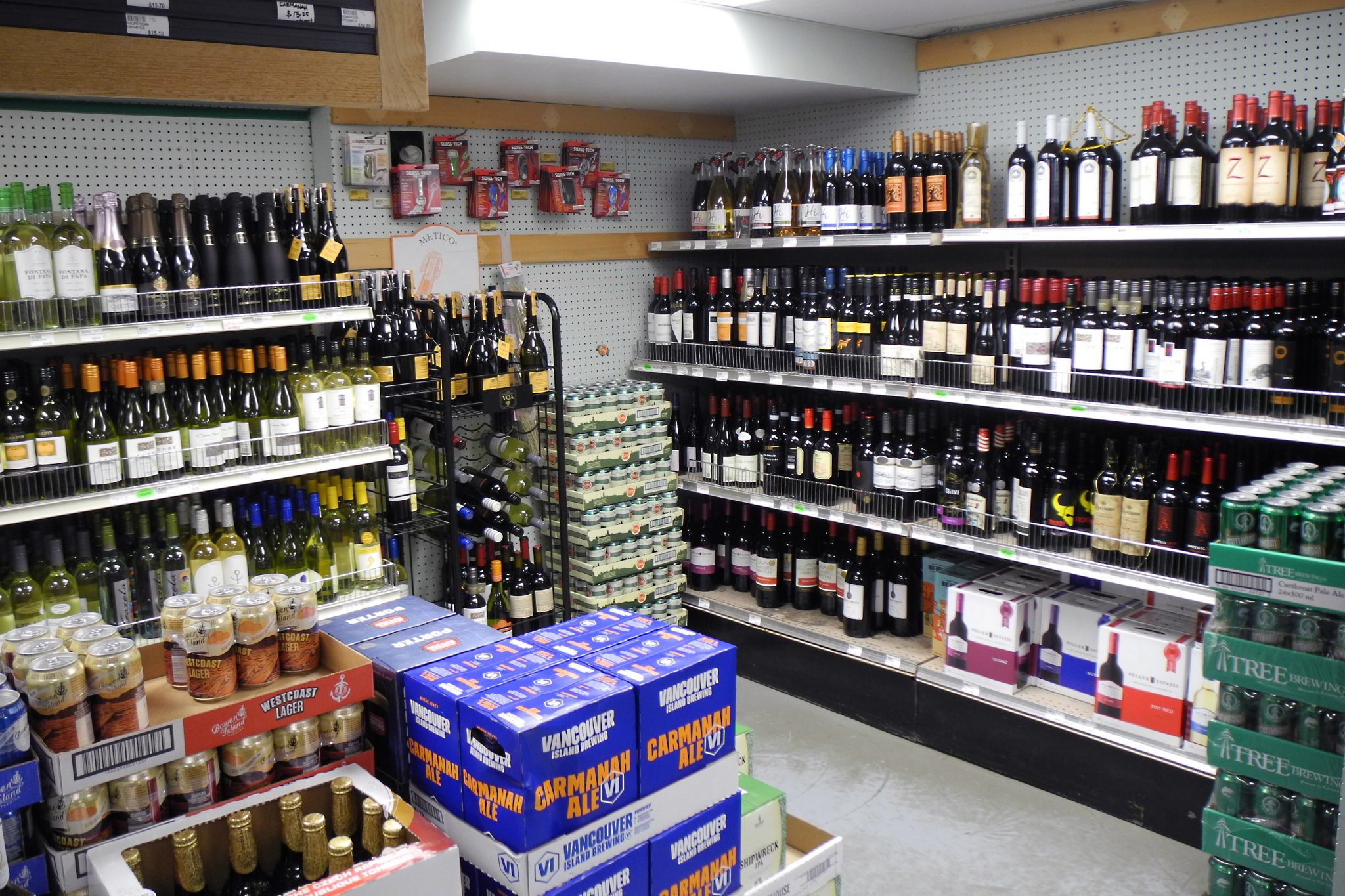 Liquor Store at the Co-op